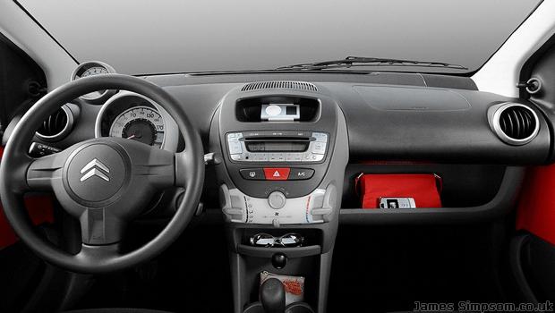 Citroen C1 Interior Stereo