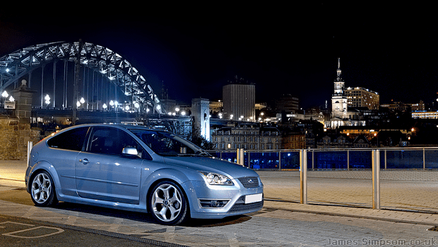 Ford Focus 2.0 Petrol ST Lookalike Replica - Newcastle Upon Tyne Quayside - Tyne Bridge