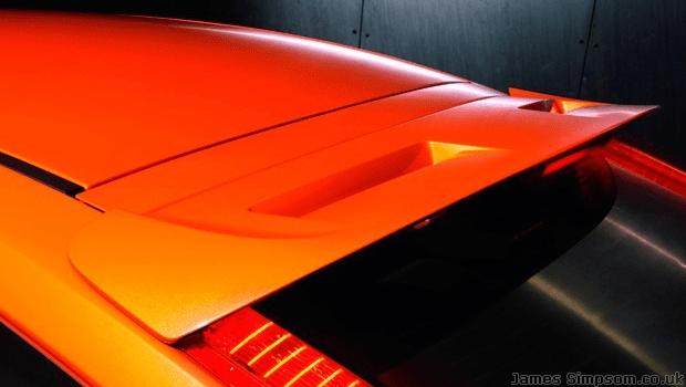 Ford Focus ST MK2.5 Spoiler - Orange