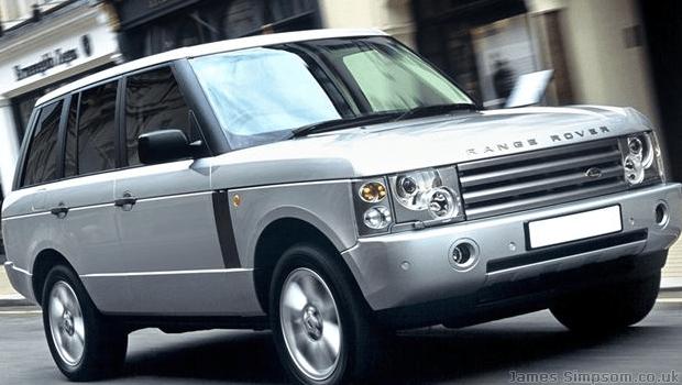 Land Rover Range Rover 2002 - Silver Jeep