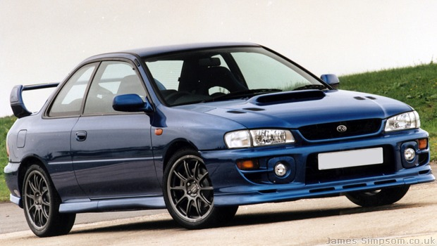 Subaru Impreza Type R Blue