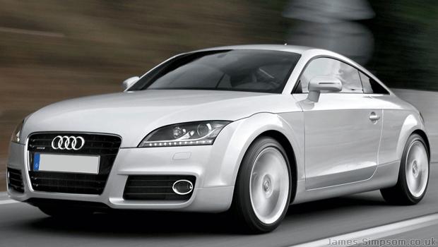 Audi TT 8J Silver Hot Hatch