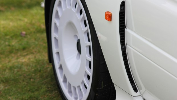 Ford Escort White Alloy Wheel
