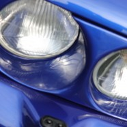 Ford Escort Blue Morette Twin Headlights