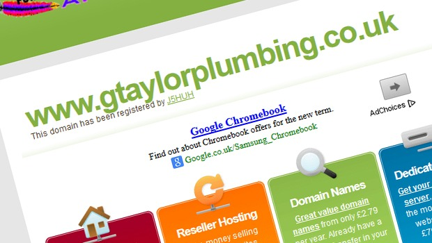 Virtualmin Parked Domain