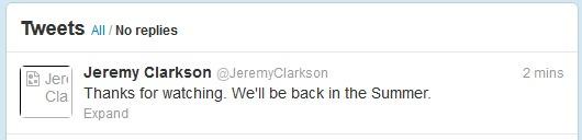 Top Gear Season 20 - Jeremy Clarkson