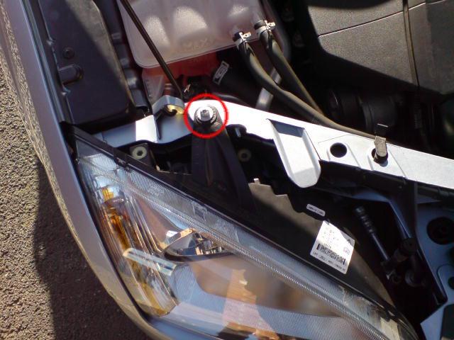 Headlight Removal Screw