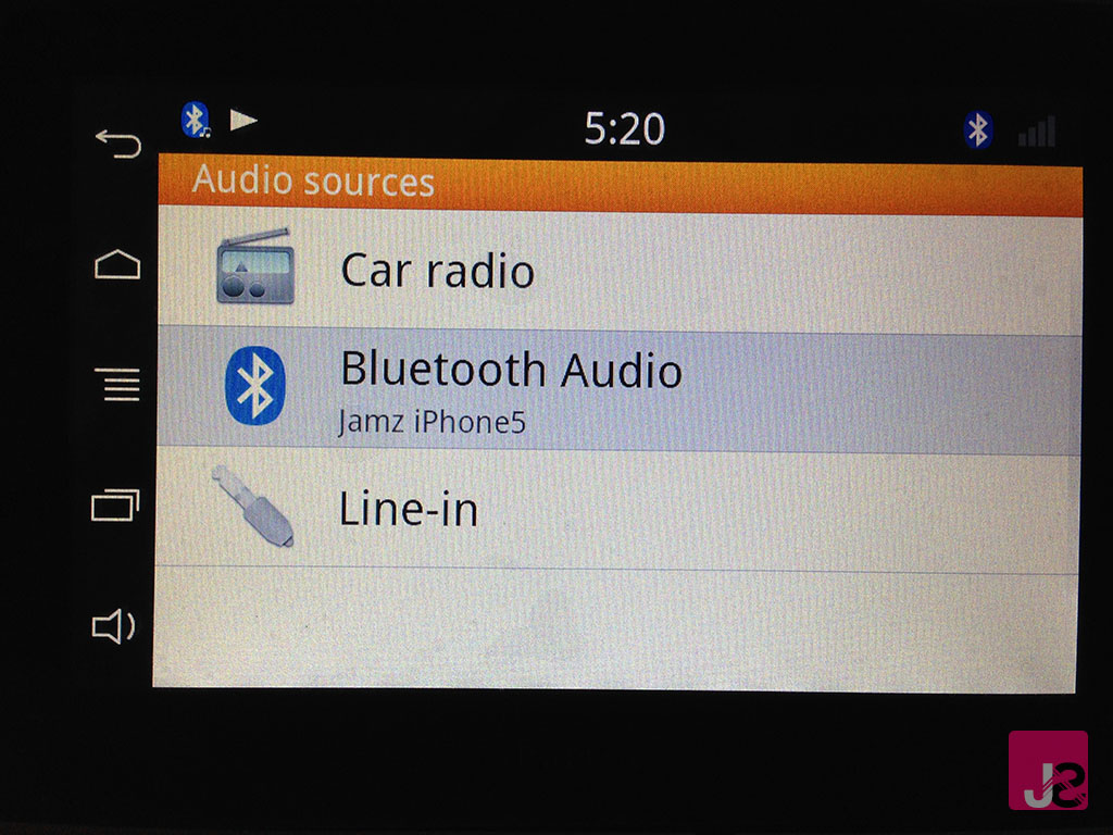 Parrot Asteroid Tablet Audio Streaming