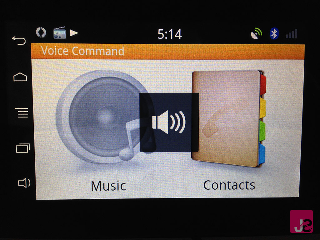 Parrot Asteroid Tablet Voice Commands
