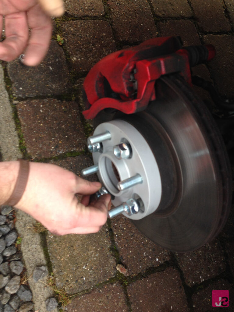 Fitting Ford Fiesta Spacers Eibach Pro