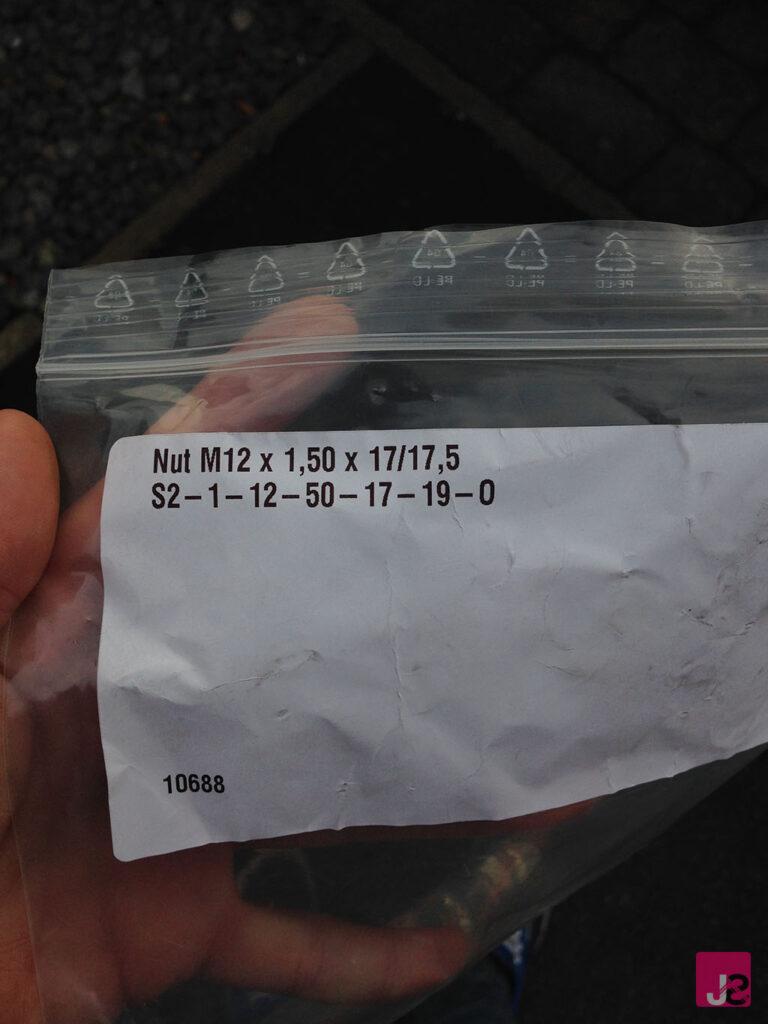 Ford Fiesta MK7 Spacer Nuts