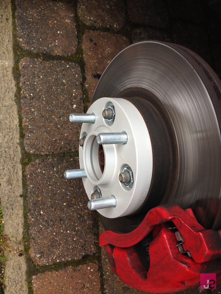 Ford Fiesta MK7 Spacers Fitted