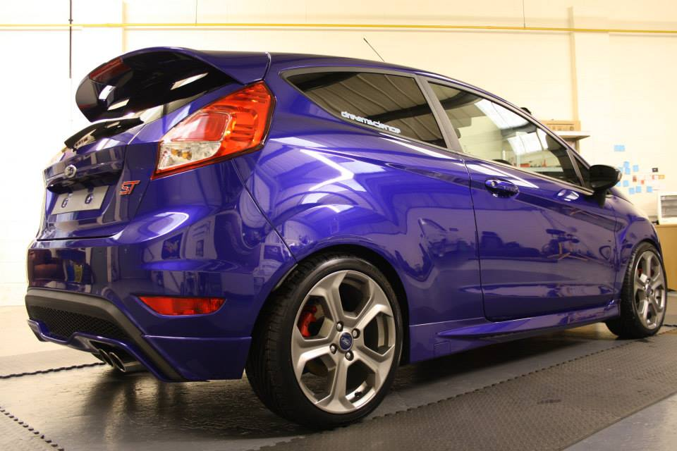 Ford Fiesta ST - Performance Blue Detail