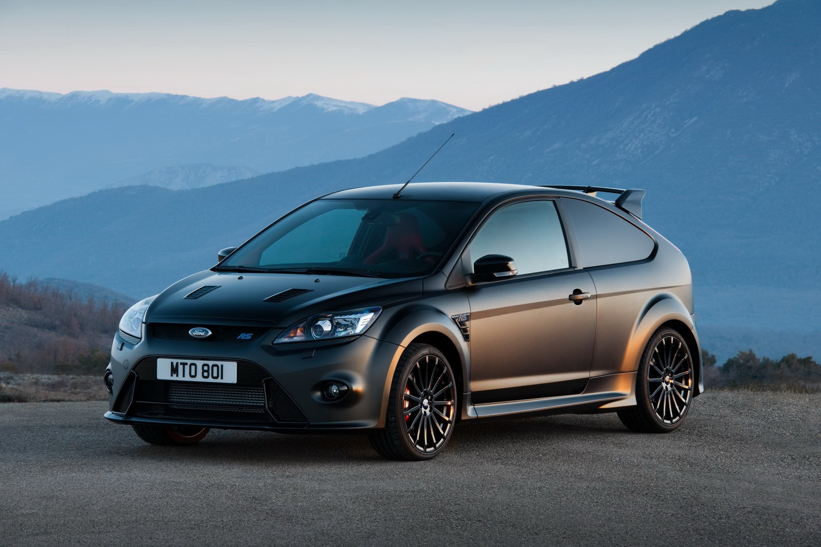 Ford Focus RS500 - Matt Black Wrap