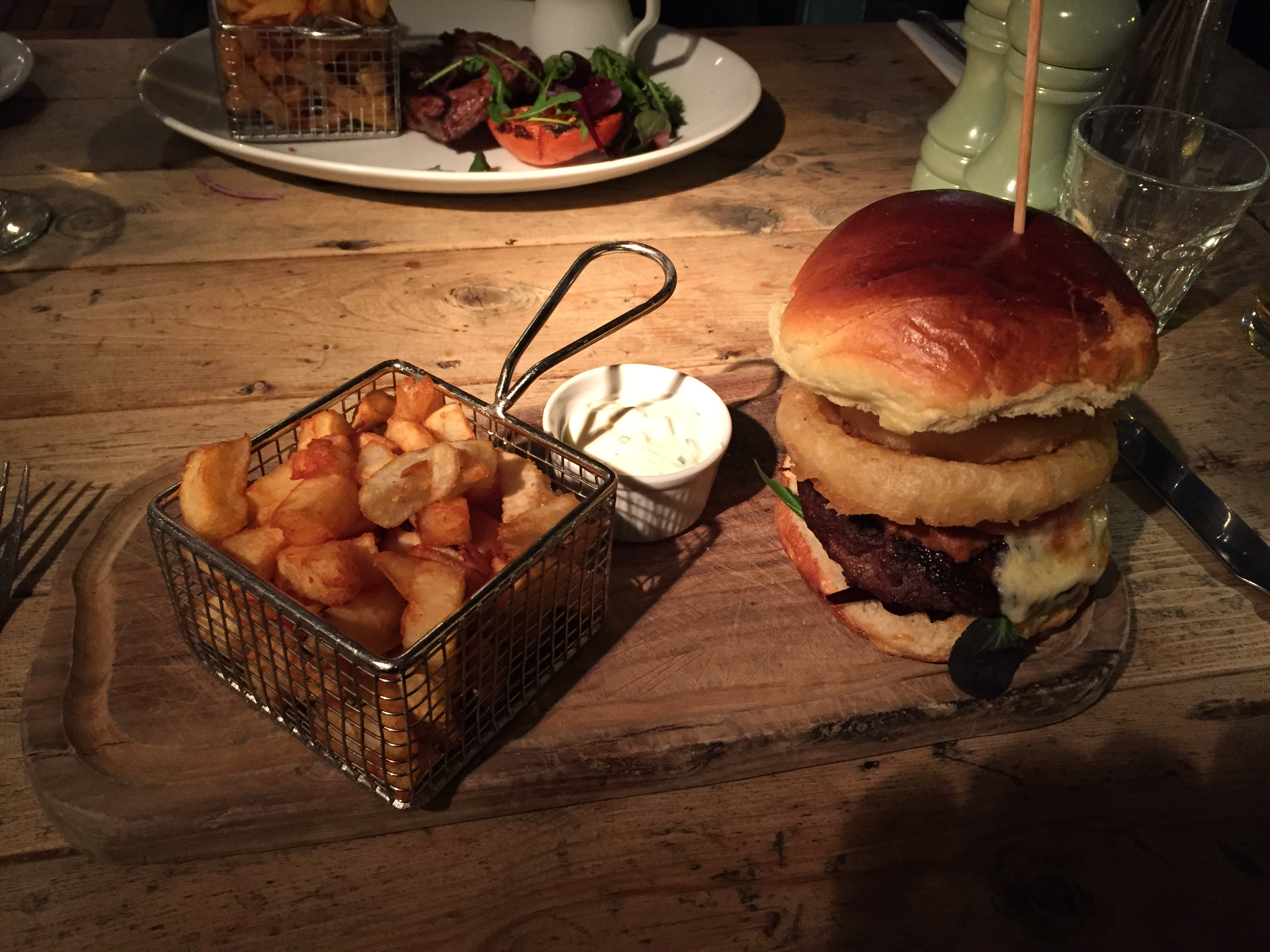 As You Like It Pulled Pork Burger